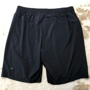 LULULEMON Shorts XXL 2XL Linerless Black Run Yoga